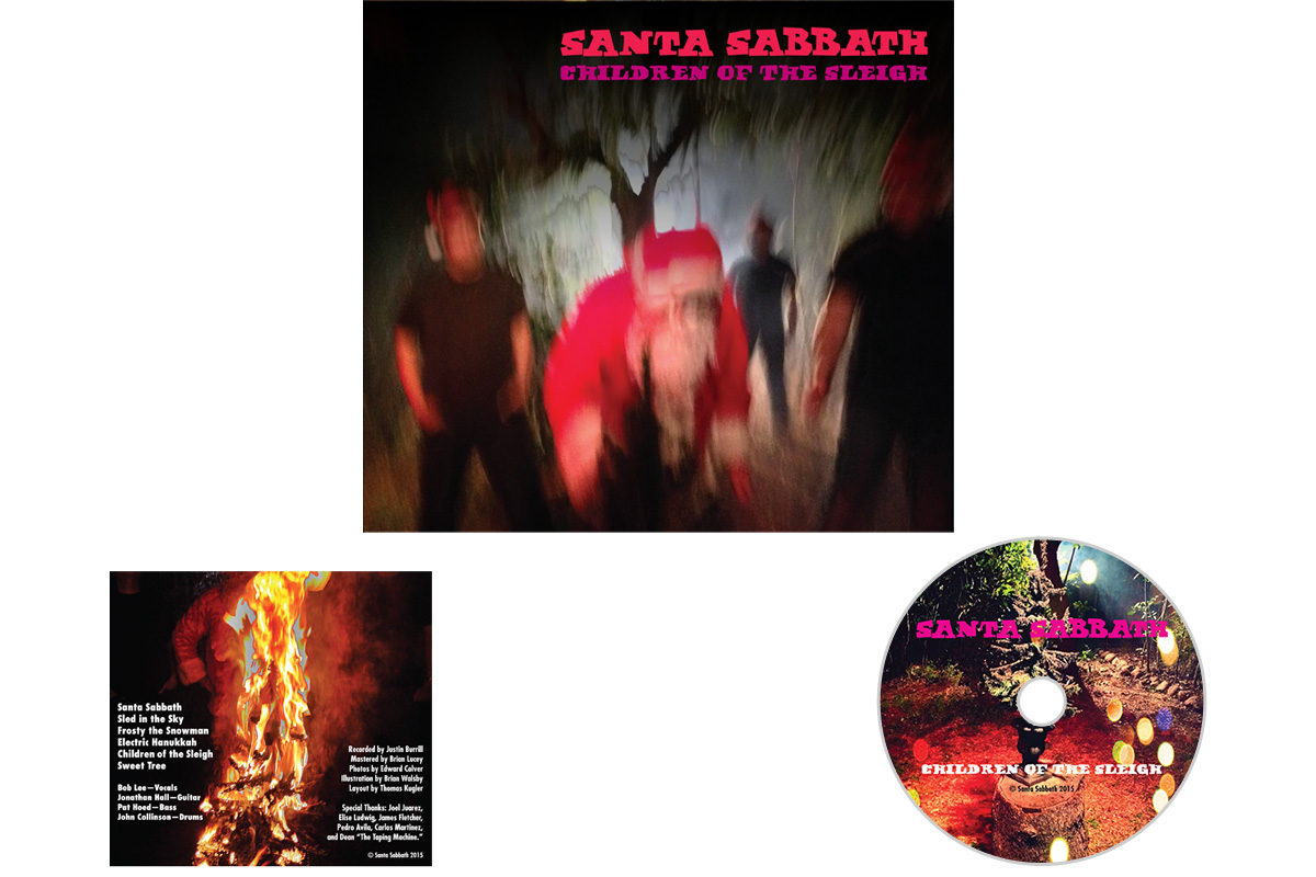 Santa Sabbath CD Cover